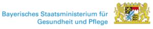 Logo Bayerisches Staatsministerium für Gesundheit und Pflege
